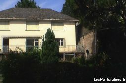 grand appartement dans villa cantalou immobilier location vacances cantal