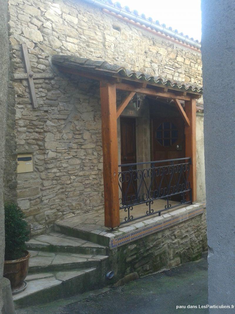 Maison dans village touristique hrault immobilier hrault - Organisation demenagement maison ...