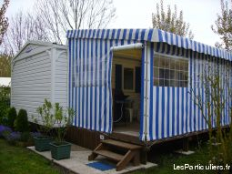 MOBIL HOME TOUT CONFORT CAMPING 4*