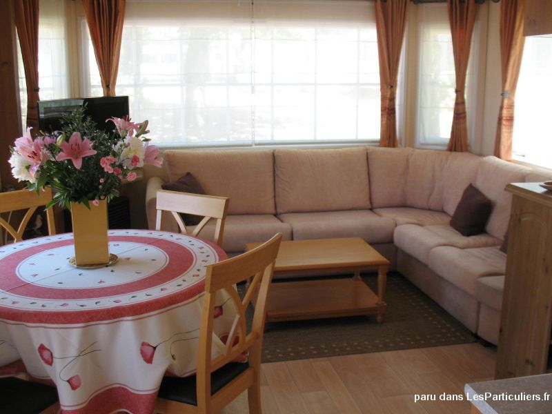 mobilhome haut de gamme 6 pers sur camping 4* mer immobilier mobil home charente-maritime