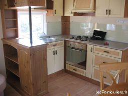 Mobilhome haut de gamme 6 pers sur camping 4* mer