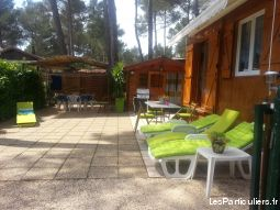 mobil home chalet camp mer 50m2 3 chambres immobilier location vacances var