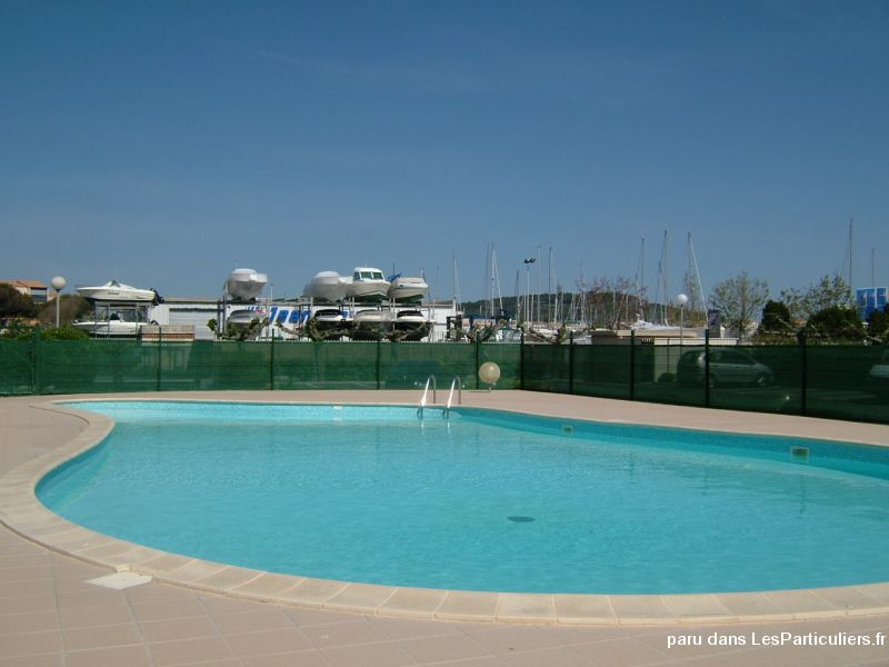 appart t2 + cabine  + loggia + piscine + parking immobilier location vacances hérault