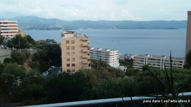 studio enti�rement meuble vue mer. immobilier appartement corse