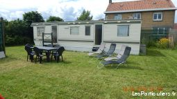 mobil home 4 places � ghyvelde immobilier location vacances nord