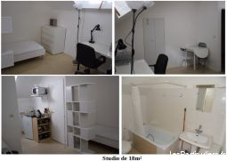 studio meubl� 270� immobilier appartement cher