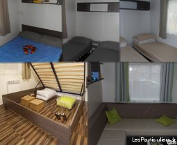 Mobilhome familly 3ch tt confort 300M mer