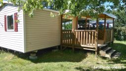 mobil home irm loggian 2 chambres dans camping 4* immobilier mobil home landes