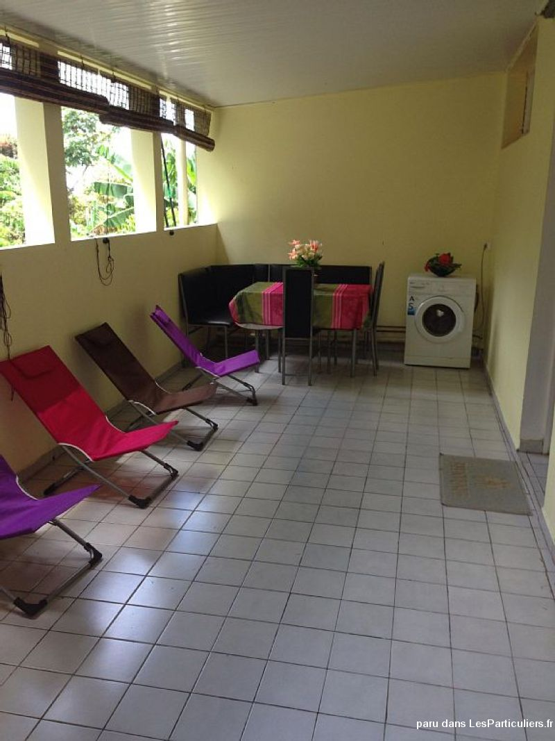 grand appartement tout confort: 6 pers immobilier appartement martinique