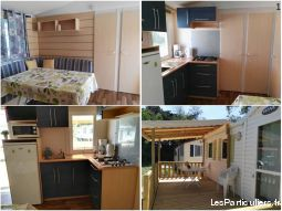 Mobil home 3 ch proche mer et reserve africaine