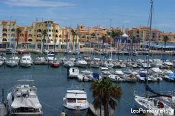 appartement 30 m� leucate port immobilier location vacances aude