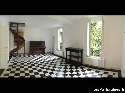 Lot appt ancien atypique 56 m2 + studio 12 m2