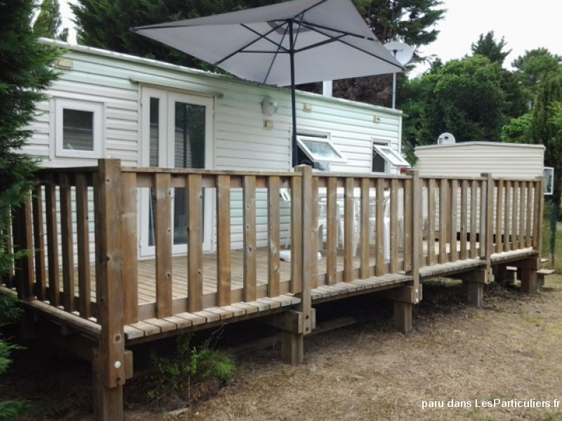 mobil'home avec terrasse immobilier mobil home charente-maritime