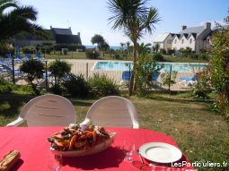 tr�s bel appartement face a l'oc�an immobilier location vacances finist�re