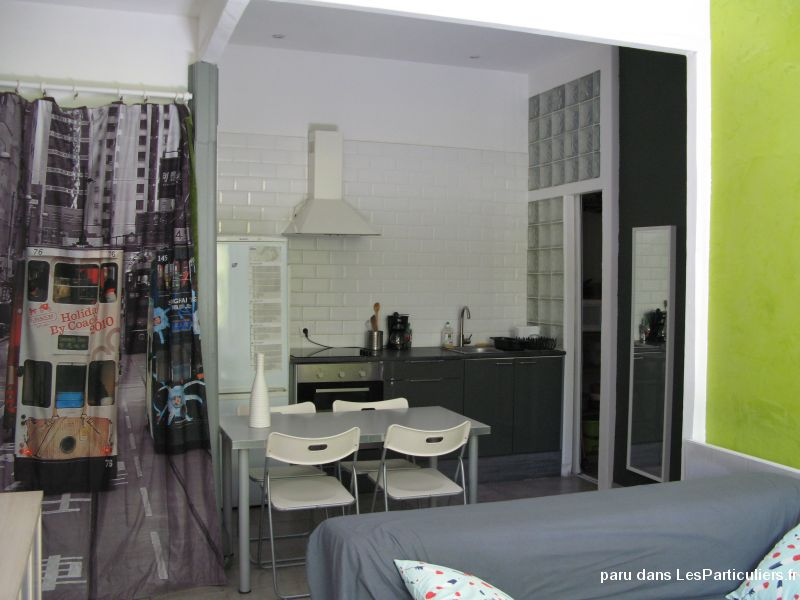 appartement t2 de 40 m2, 650 euros.  immobilier appartement hérault