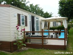 mobilhome camping 5*  bretagne sud immobilier mobil home finist�re
