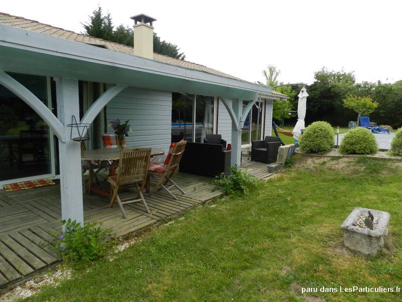 MAISON CONTEMPORAINE OSSATURE BOIS Immobilier Gironde # Maison Ossature Bois Gironde