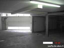 double box ferm� avec mezzanine nice ouest immobilier garage parking cave alpes-maritimes