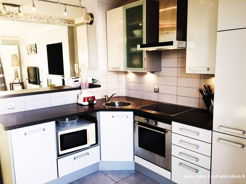 Appart 3p 60 m2 rnov traversant parking cave immobilier for Garde meuble annemasse