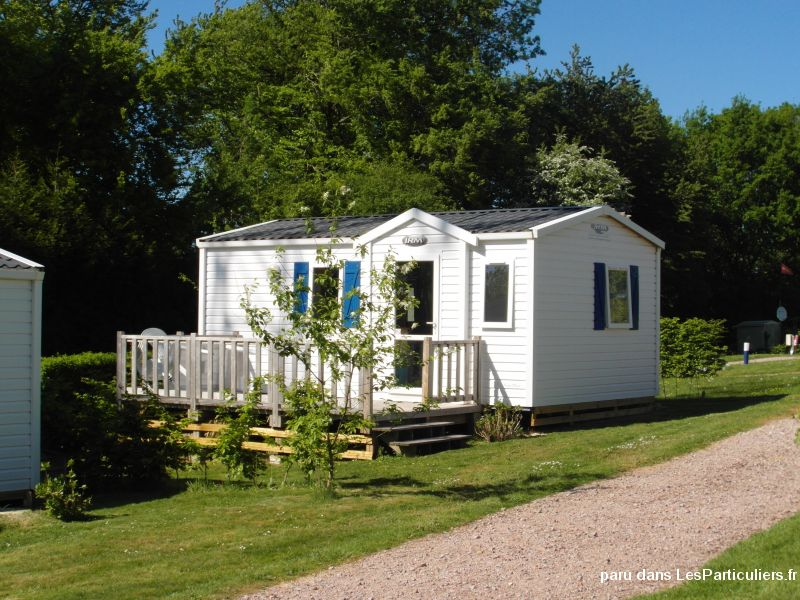 mobil home confort le bourg dun immobilier location vacances seine-maritime