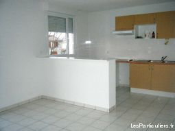 appartement t3 de 63 m2 st jean d'angely immobilier appartement charente-maritime