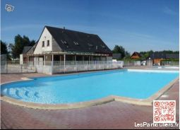 chalet 6pers cabourg wifi piscine immobilier location vacances calvados