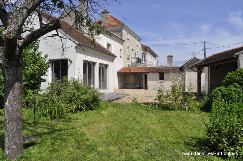 Maison avec cour et jardin privatifs immobilier aisne - Organisation demenagement maison ...