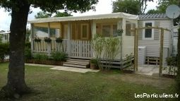 mobilhome 3 ch camping atlantique parc 4  immobilier location vacances charente-maritime