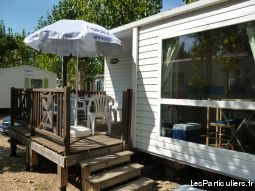 mobil home 4/6 pers camping 4* immobilier location vacances hérault