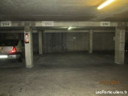 parking 19eme buttes chaumont / belleville immobilier garage parking cave paris