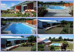 gîtes 2 ou 3 chambres immobilier location vacances guadeloupe