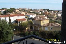 appartement 7kms mer valras-plage immobilier location vacances hérault