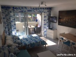 charmant studio 5 mn plage dans petite residence immobilier appartement var