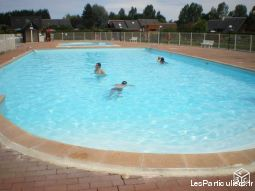 cabourg chalet piscine  immobilier location vacances calvados