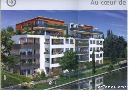 appartement t2 69m² + terrasse + parking immobilier appartement meurthe-et-moselle
