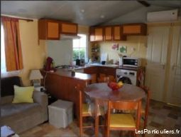 mobilhome clim 6 pers. camping mayotte 5* biscaros immobilier location vacances landes