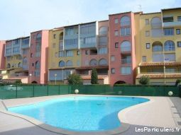 t2 piscine parking prive vue mer port mont st loup immobilier location vacances hérault