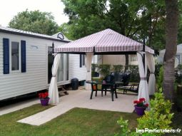 mobil-home sur camping 3* immobilier location vacances charente-maritime