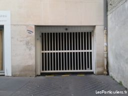 place parking immobilier garage parking cave paris