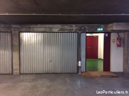 box paris 17ème immobilier garage parking cave paris