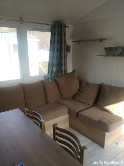 mobil home 6 places 3 chambres immobilier location vacances calvados