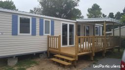 mobil-home neuf 6/8 couchages immobilier location vacances vendée