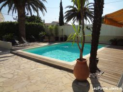 appartement bord de mer avec piscine privative  immobilier location vacances var