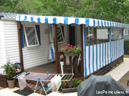 mobil home 3 ch camping idéal camping immobilier location vacances charente-maritime