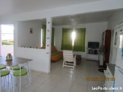 vacances: superbe appart. 100 m² avec terrasses  immobilier appartement guadeloupe