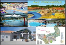 mbh grand comfort 6 / 8 pers camping****siblu 2sb / wc immobilier location vacances charente-maritime