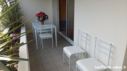 f2 terrasse pkg prive wifi pays basque hendaye 64  immobilier location vacances landes
