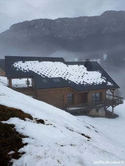 massif chartreuse chalet 6 pers 500€ / sem immobilier location vacances savoie