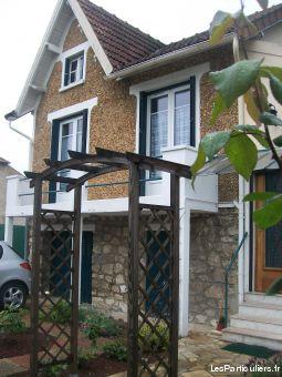 Maison meulière individuelle, 4 pièces 90 m2