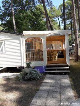 Mobil home camping Les Oyats Soulac s / mer
